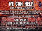 Keppel Bay Bricklaying