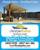 Lifestyle Patios - Sunshine Coast