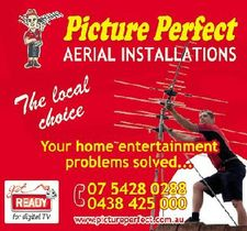 Picture Perfect Aerial Installations - The local choice   Your home entertainment problems solved...