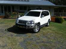 2008 Toyota Prado GXL, V6, auto, petrol, 143,000kms, full serv hist, no offroad, exc cond, $28,500 neg Kyogle. 0418759266