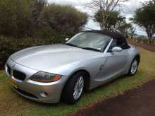 2003 BMW Z4 Convertible. Manual, 2.5liter, Rego till 2-02-2015, 143,961kms. Is in Excellent Condition, Regularly Serviced. Price: $21,000. Phone (02) 66291180 or 0412494560