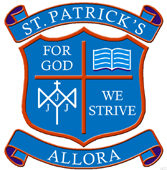 Applications are invited for the position at St Patrick's School, Allora 19 January 2015 to 4 December 2015
