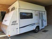 2012 Jayco Starcraft   13.42 Poptop, twin beds, tv, a/c, good storage, light and easy towing with small vehicle, as new hardly used. Selling due to sudden iill health
