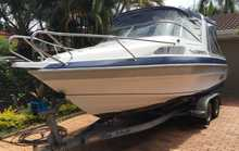 FREEDOM Elite 6.2m, Honda 130HP, Sealink trailer, 12 mths rego. Many extras all in excellent condition. Bargain at $29,850 PH 54498967