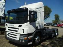 SCANIA P420 2008 6X4 BOGIE DRIVE DAY CAB 3-PEDAL OPTICRUISE IDEAL TIPPER CONVERSION OR GOOD CONTAINER UNIT.