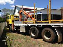 <p> 1986 International Acco Crane Truck Reliable, Next RMS Inspection, May 2015, Situated Woodburn $11,000. Phone Peter 0422075885 </p>
