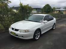 2002, 226,692 kms, Sedan, 4-door, Automatic, Petrol, 2WD, 6-cylinder, Excellent condition, Ext: White / Int: Black, Rego: BG87KW, Rego Exp: 02/15, ABS (Antilock Brakes), Air Con, Airbags - Driver, Airbags - Passenger, Alloy Wheels, CD/Cassette/Radio, Central Locking, Cruise Control, Power Steering, Tinted Windows, - 2002 White Holden Commodore Sedan.   - One ...