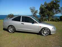2001, 228,000 kms, Coupe, 2-door, Manual, 4-cylinder, Ext: Silver Rego: BIM65H, Rego Exp: 03/15, GREAT LITTLE CAR, EXCELLENT ON FUEL, VERY GOOD CONDITION INSIDE AND OUT. LADY OWNER FOR LAST 6 YEARS. TYRES AS NEW., $3,450 ono. BALLINA. T: 02 6686 0521 M: 0407 402 328 E ...