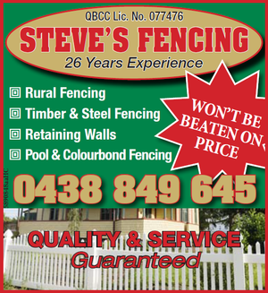 Rural Fencing