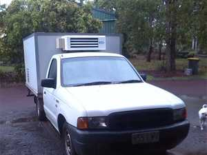 FORD COURIER REFRIGERATED UTE