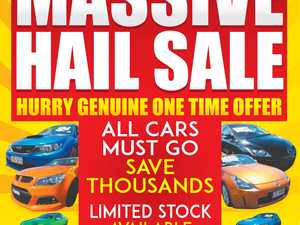 MOTORWORLDS MASSIVE HAIL SALE - NOW ON