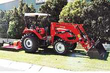 Special, power steer, 4WD, 4 in 1 FEL, 5ft slasher.