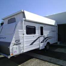 """2014 Jayco Starcraft    16'6"""" poptop, sngle beds, full ens, a/c, sep dinette, m/wave, r/o awn, many extras, illness forces sale, well worth inspection,   $1000's below new price $37,500   Ph 0407577544"""