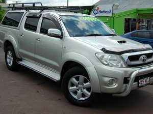 2010 Toyota Hilux KUN26R MY11 Upgrade SR5 (4x4) Silver 4 Speed Automatic Dual Cab Pick-up