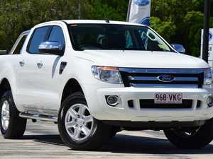 2014 Ford Ranger PX XLT Double Cab Cool White 6 Speed Manual Utility