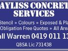 BAYLISS CONCRETE SERVICES