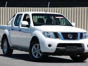 2013 Nissan Navara D40 S6 MY12 ST 4x2 Polar White 6 Speed Manual Utility