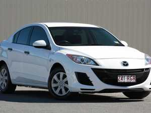 2010 Mazda 3 BL10F1 MY10 Neo Activematic White 5 Speed Automatic Sedan