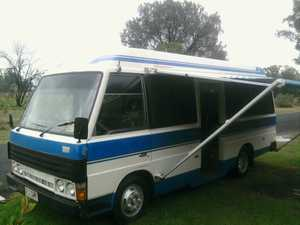 Diesel  fully screened  double bed  lounge  sink  kitchen  rego/rwc  lots of money spent  SOLD