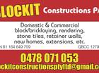 Blockit Constructions P/L.