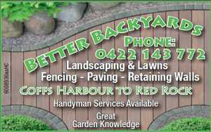 Better Backyards