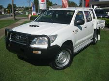 2012 TOYOTA HILUX SR 3.0LT TURBO DIESEL MANUAL DUAL CAB TRAY BACK UTE We are a leading Multi Franchise Dealership. With a fantastic range of New and Pre-Owned cars, you can buy with confidence knowing that all our vehicles go through a strict workshop inspection to meet the highest ...