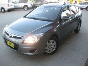 2010 Hyundai i30 FD MY10 CW SX 2.0 Grey 4 Speed Automatic Wagon