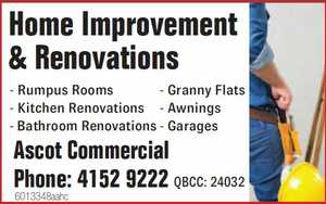 Home Improvement & Renovations