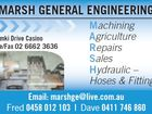 MARSH GENERAL ENGINEERING