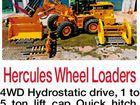 Hercules Wheel Loaders