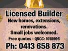 Licensed Builder