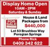 10AM - 2PM Saturday & Sunday 