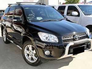 2010 Toyota RAV4 ACA33R MY09 Cruiser L Black 4 Speed Automatic Wagon