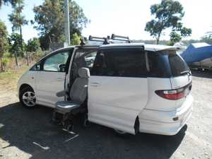Disability Vehicle Toyota Estima,  7 str, 4WD Auto  Full automated wheel chair operation very hard to get  Only 84000kms.  AS new