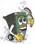 Hervey Bay Bin Clean • Home & Work • Industrial & Skips • Only $8 for two bins 0447 000 453 E: hbbincleaning@gmail.com Hervey Bay Region