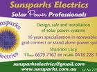 SUNSPARKS ELECTRICS