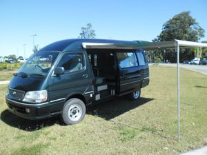 Diesel  Tturbo,  Auto,  Campervan.  Factory fitout with it all.  As New condition
