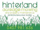 Hinterland Acreage Mowing