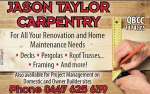 JASON TAYLOR CARPENTRY 