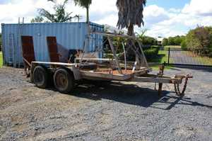 Used  Galvanised  Good condition  Not registered  Ex-Telstra trailer  6.5 tonne  0497072345