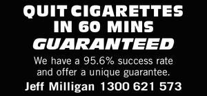 We have a 95.6% success rate and offer a unique guarantee.  Jeff Milligan
