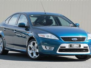 2008 Ford Mondeo MA XR5 Turbo Blue 6 Speed Manual Hatchback