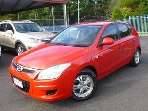 2008 Hyundai i30 FD SX Red 5 Speed Manual Hatchback