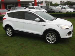 2013 Ford Kuga TF Trend (awd) White 6 Speed Automatic Wagon