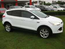 2013FORD KUGA TREND 2.0LT TURBO DIESEL 6 SPEED AUTOMATIC ALL-WHEEL DRIVE WAGON We are a leading Multi Franchise Dealership. With a fantastic range of New and Pre-Owned cars, you can buy with confidence knowing that all our vehicles go through a strict workshop inspection to meet the highest standards ...