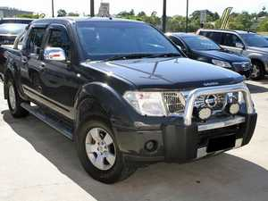 2007 Nissan Navara D40 ST-X Grey 5 Speed Automatic Dual Cab Pick-up