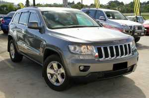 2012 Jeep Grand Cherokee Laredo!  This Grand Cherokee has been kept in very good condition, and looks great in Silver with Tinted Windows and Factory Alloy wheels.  Our Petrol Jeep is ready to go, with Redarc Electric Brakes and a Towbar.  Do yourselves a favour and have a drive of ...