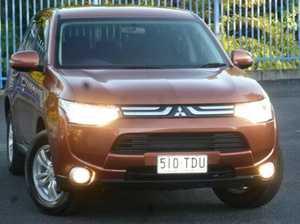2012 Mitsubishi Outlander ZJ MY13 LS 2WD Bronze 6 Speed Constant Variable Wagon