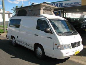 2003 Mercedes-Benz MB140  White 5 Speed Manual Van