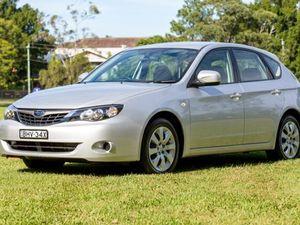 2008 Subaru Impreza G3 MY08 R AWD Silver 4 Speed Automatic Hatchback